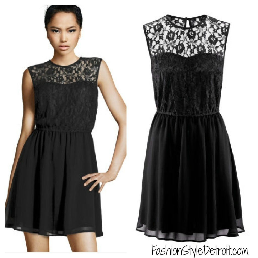 Little Black Dress Fashion Style Detroit Want Need Crave Fashion