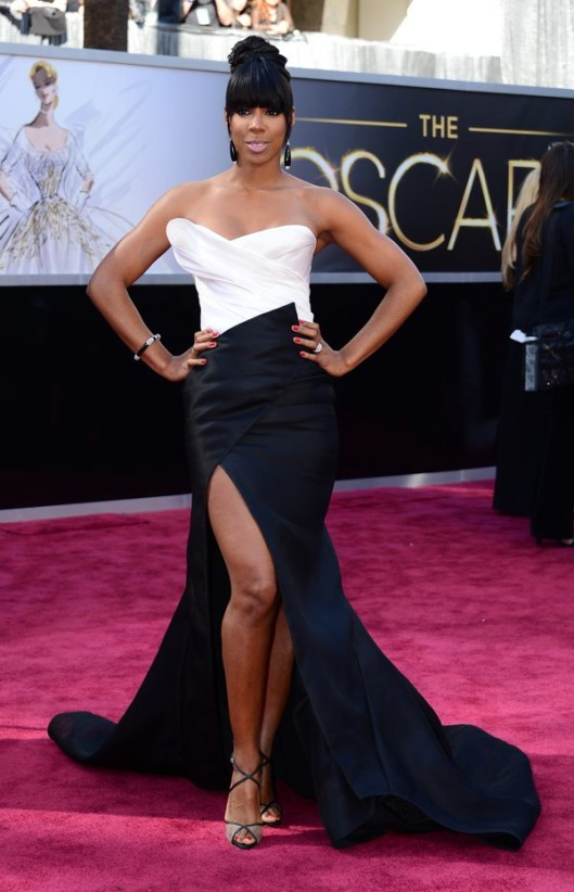 Kelly Rowland in Donna Karan Atelier