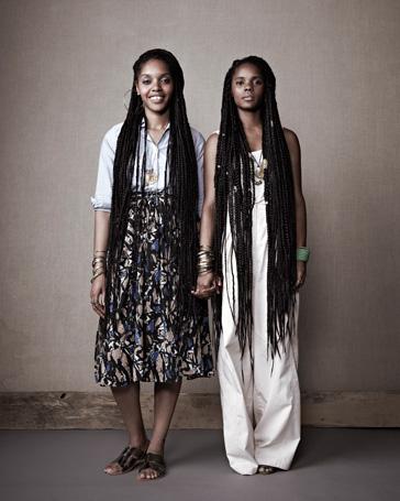 Darlene and Lizzy Okpo